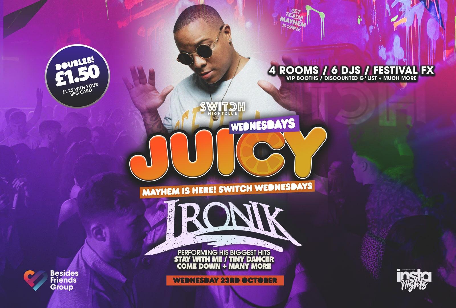 Juicy Ft Ironik – 23rd Oct