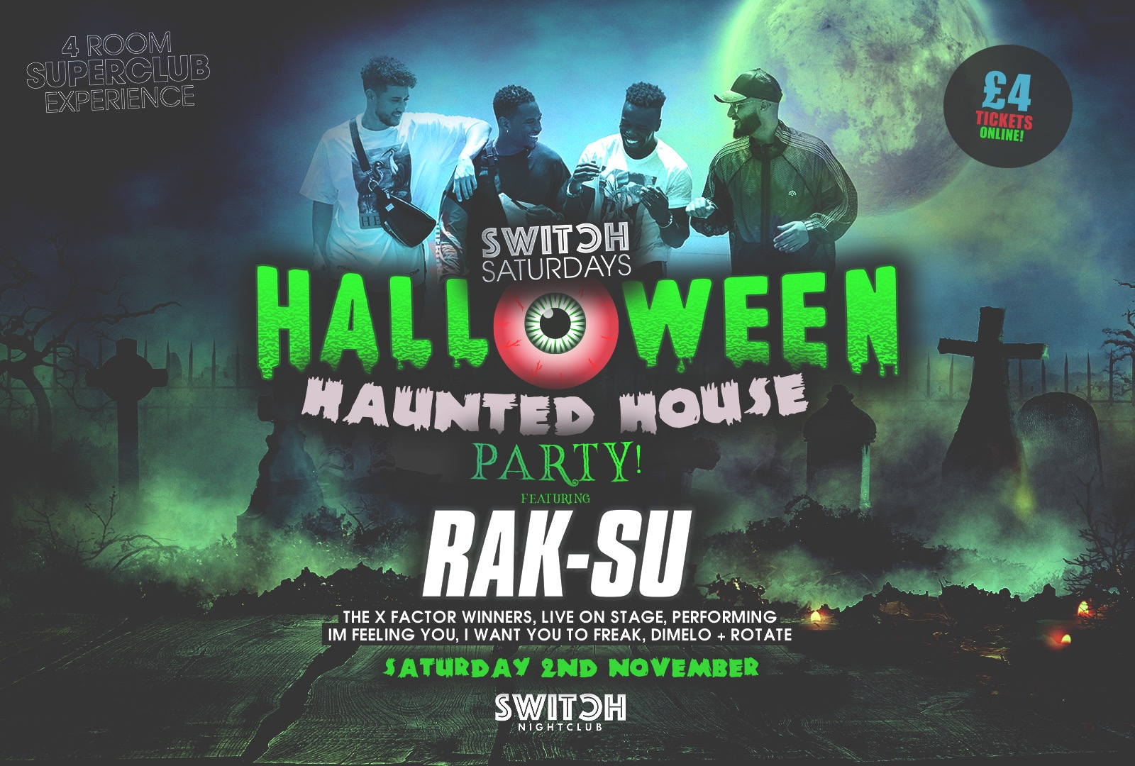 Switch Saturdays Ft Rak Su