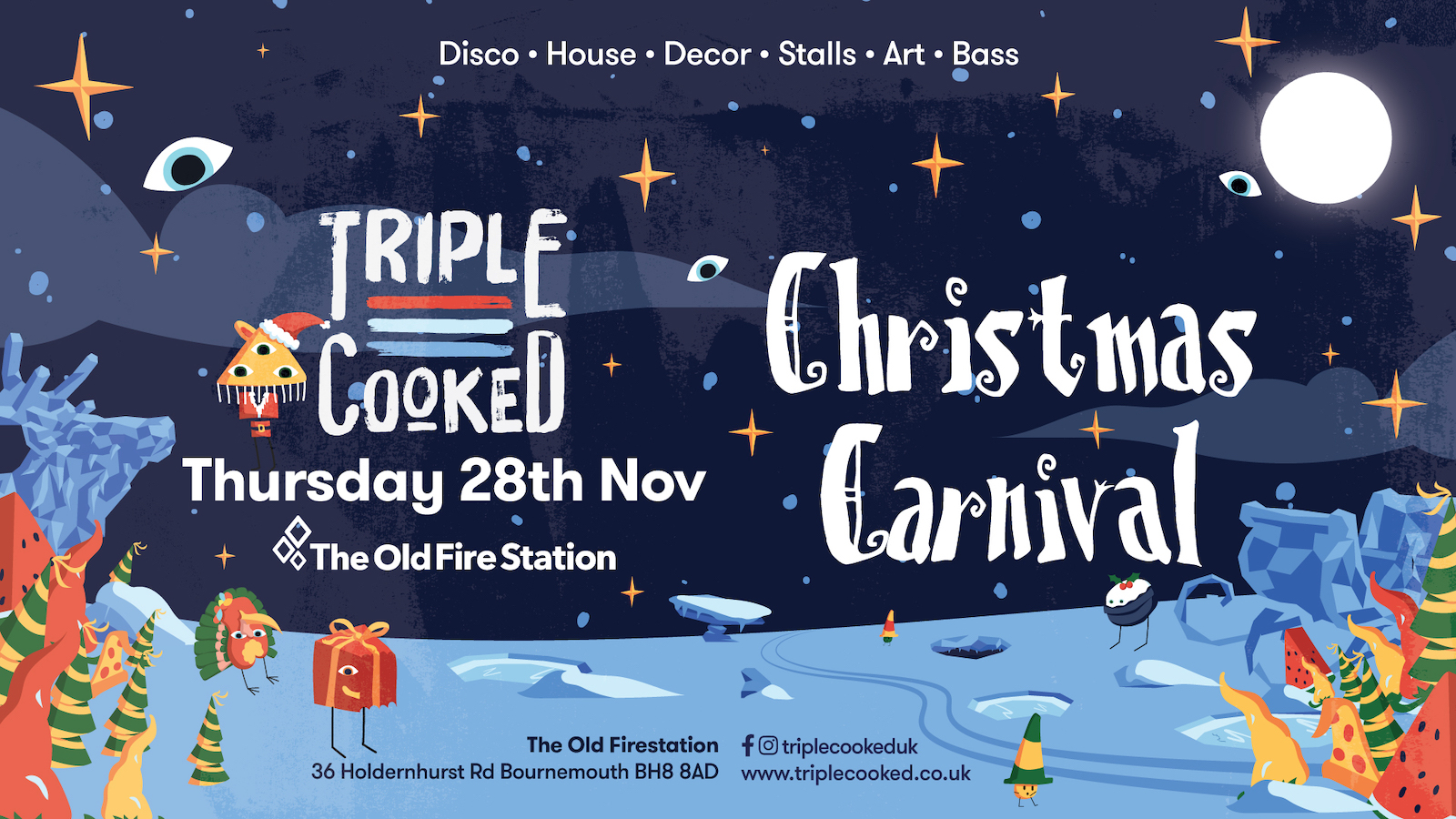 Triple Cooked: Bournemouth – Christmas Carnival