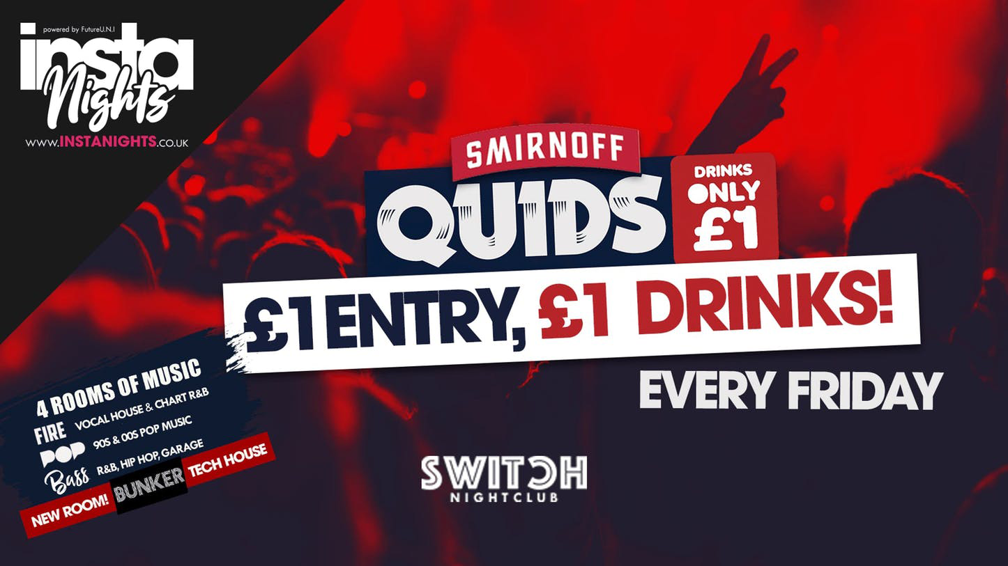 Quids Fridays – 3rd Jan