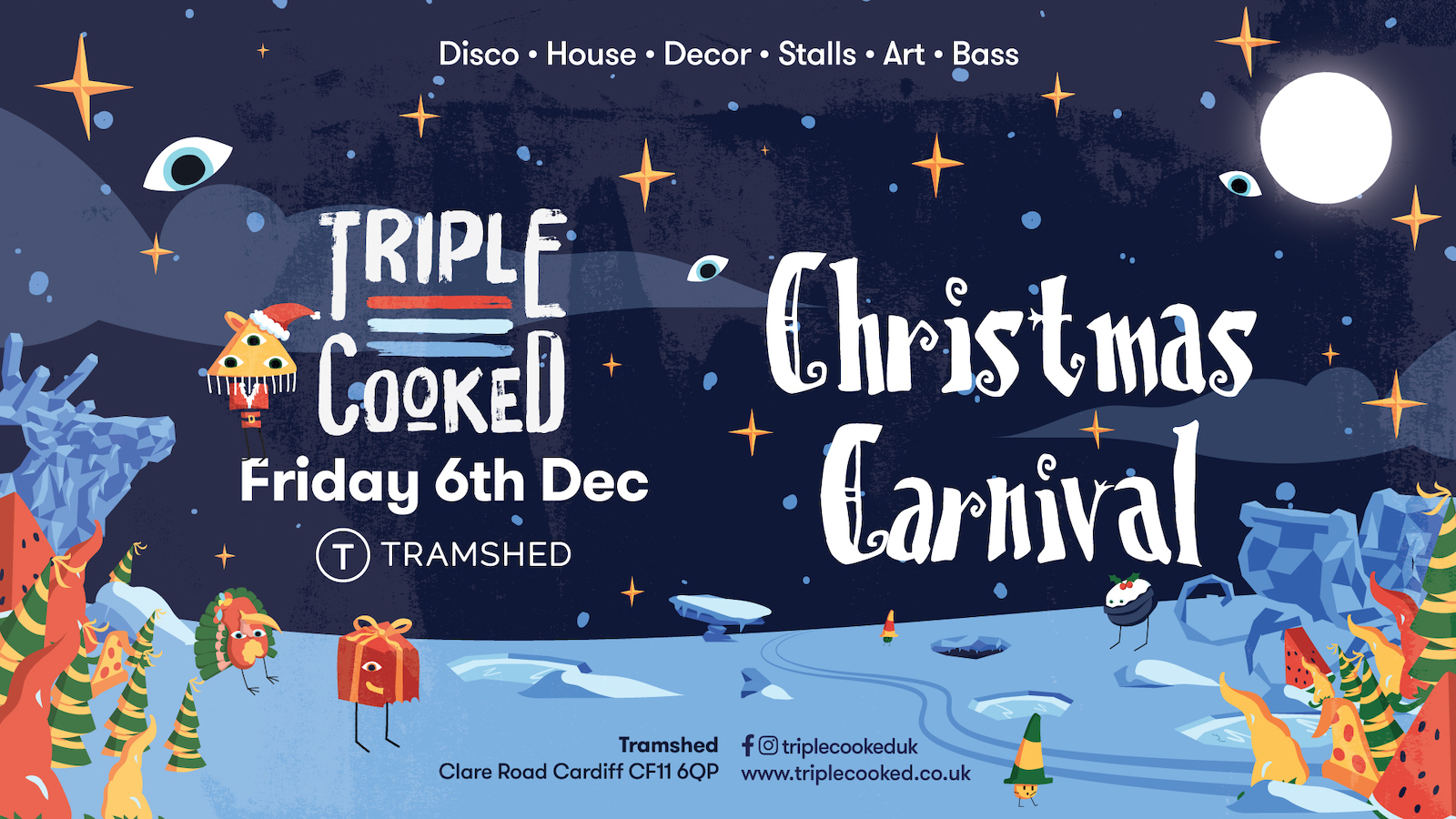 Triple Cooked: Cardiff – Christmas Carnival
