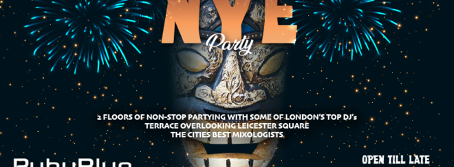 New Year's Eve at Ruby Blue