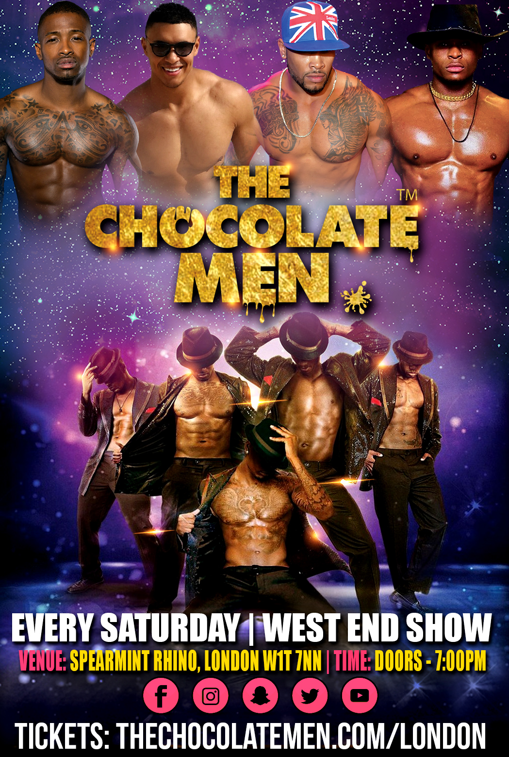 Chocolate City London Show w/ The Chocolate Men – Live & Uncensored