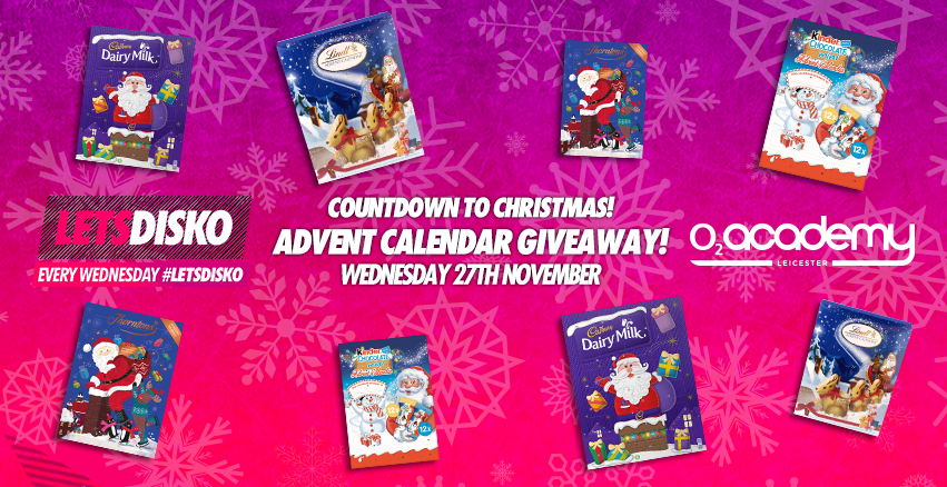 Letsdisko! Countdown to Xmas! Advent Calendar Giveaway! 27th Nov