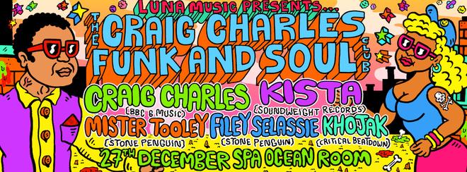 Craig Charles Funk and Soul Club - Scarborough