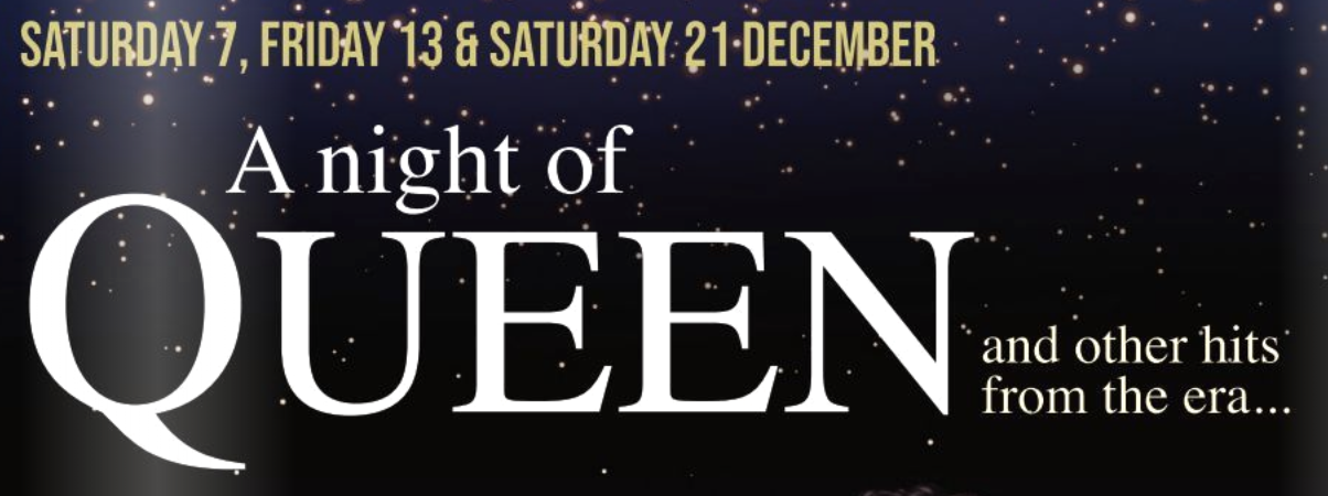 Queen themed Christmas Dinner Party