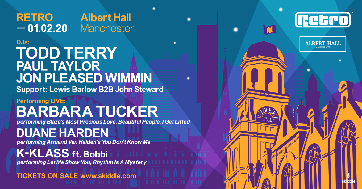 Retro at Albert Hall 1 Feb 20