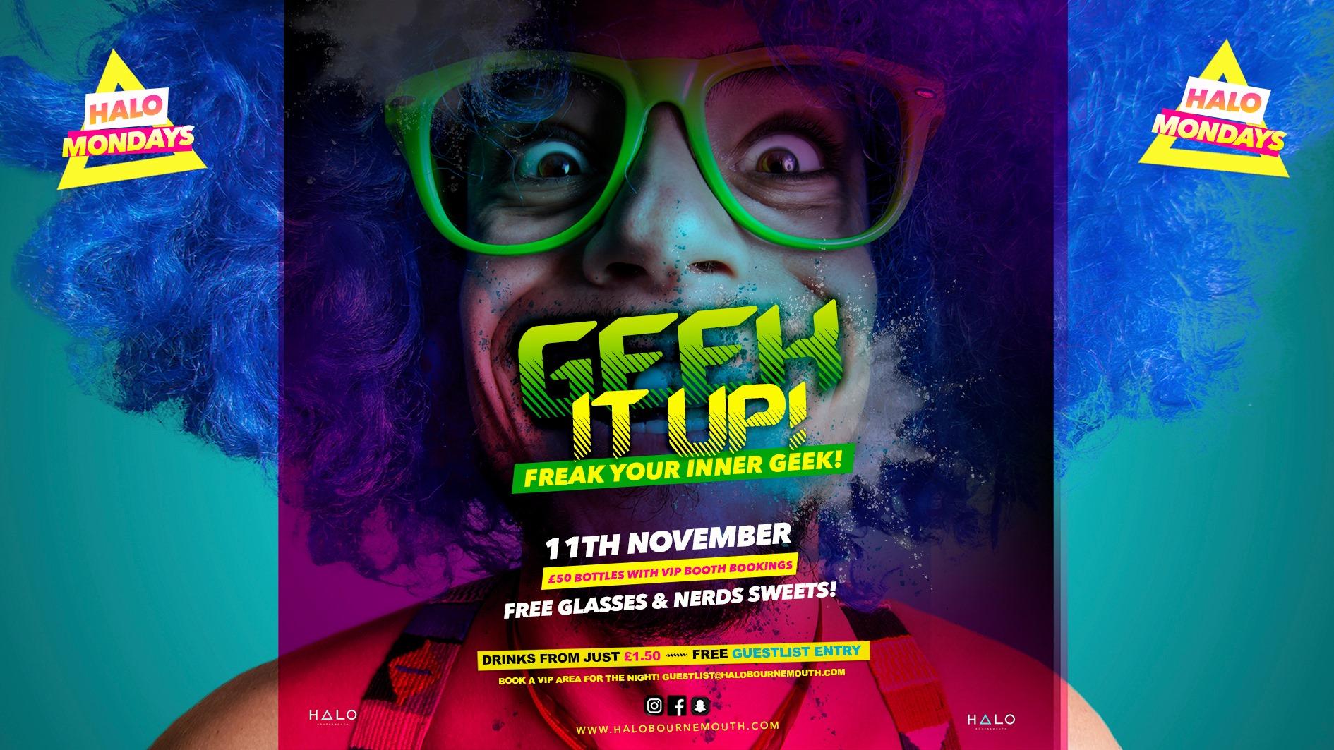 Halo Mondays 11.11 //// Drinks from £1.50 – Bournemouth's Biggest Student Night // Bournemouth Freshers