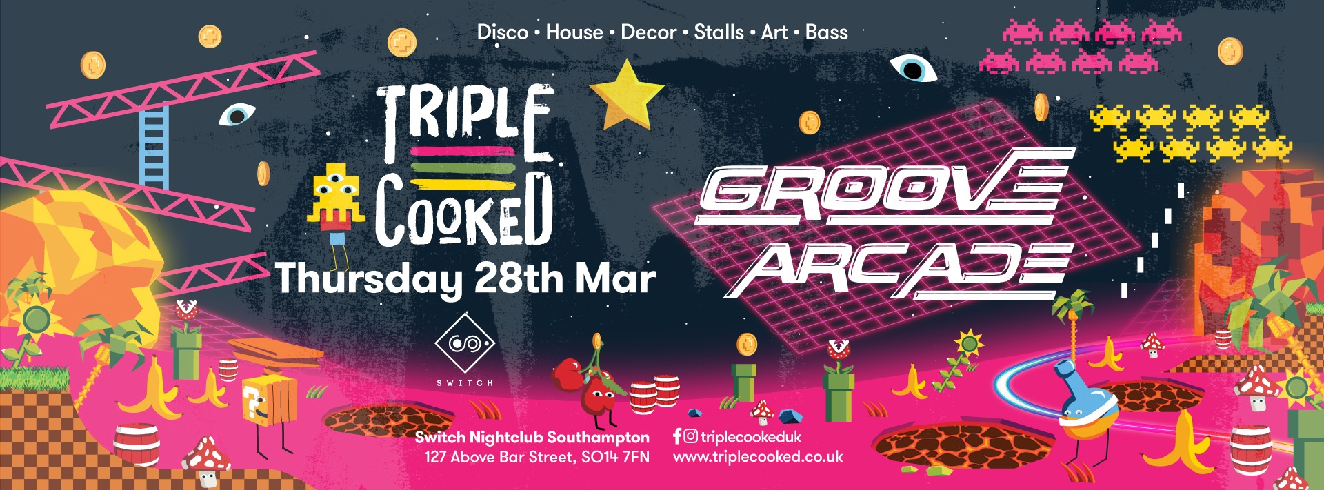Triple Cooked: Southampton – Groove Arcade
