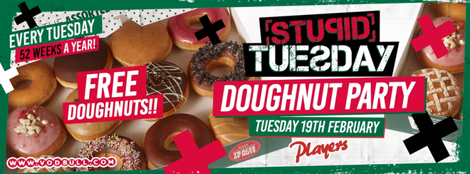 Stuesday 🍩 Doughnut Party 🍩