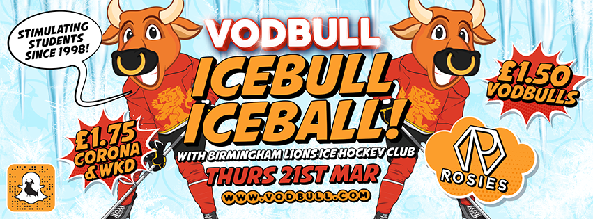 Vodbull ICEBULL ICEBALL {50% SOLD OUT!}