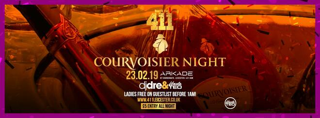 Courvoisier Night! ★ VIP Bottle + Table Giveaway! ★ Ladies Guestlist Opens Weds 7pm ★ Tickets Now On Sale!