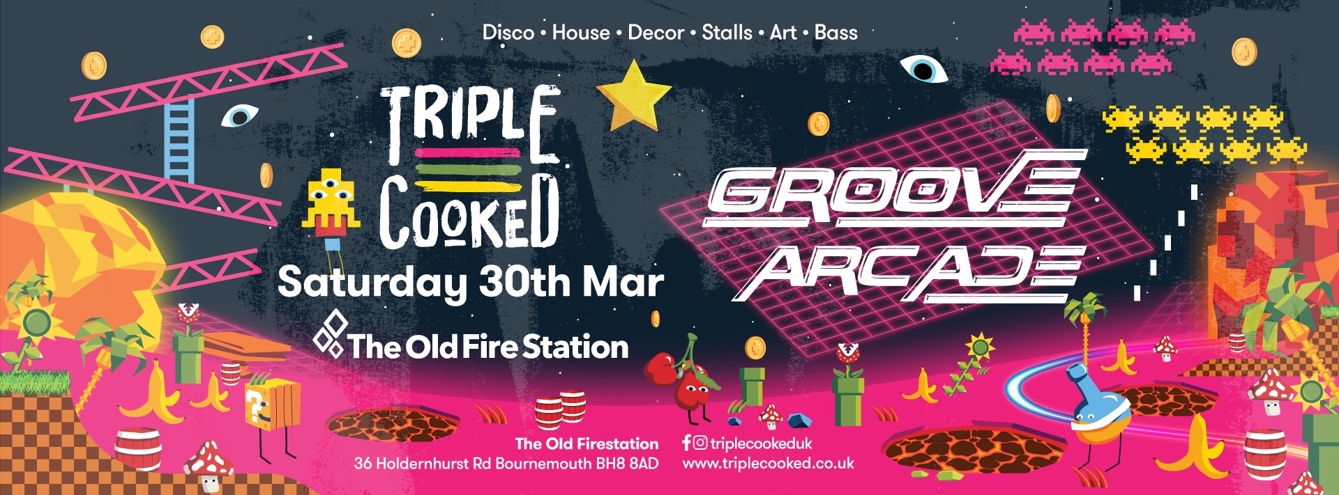 Triple Cooked | Bournemouth – Groove Arcade