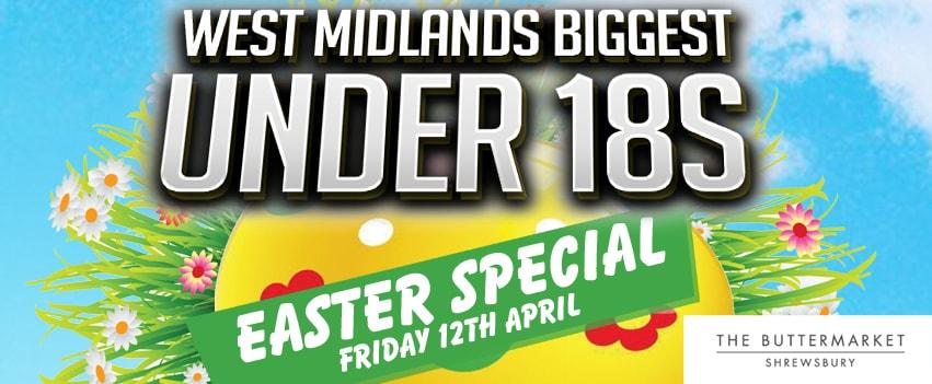 West Midlands Biggest Under 18s Easter Party