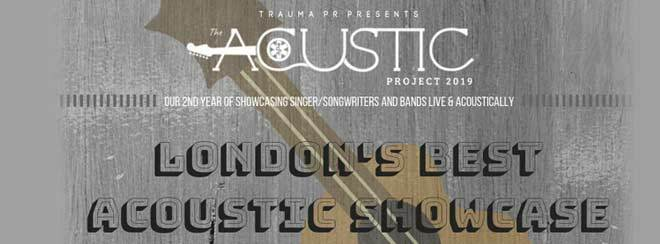 Trauma PR Presents // The Acoustic Project 2019