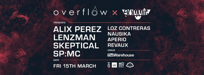 Overflow x Summit – Alix Perez, Lenzman, Skeptical, SP:MC + More