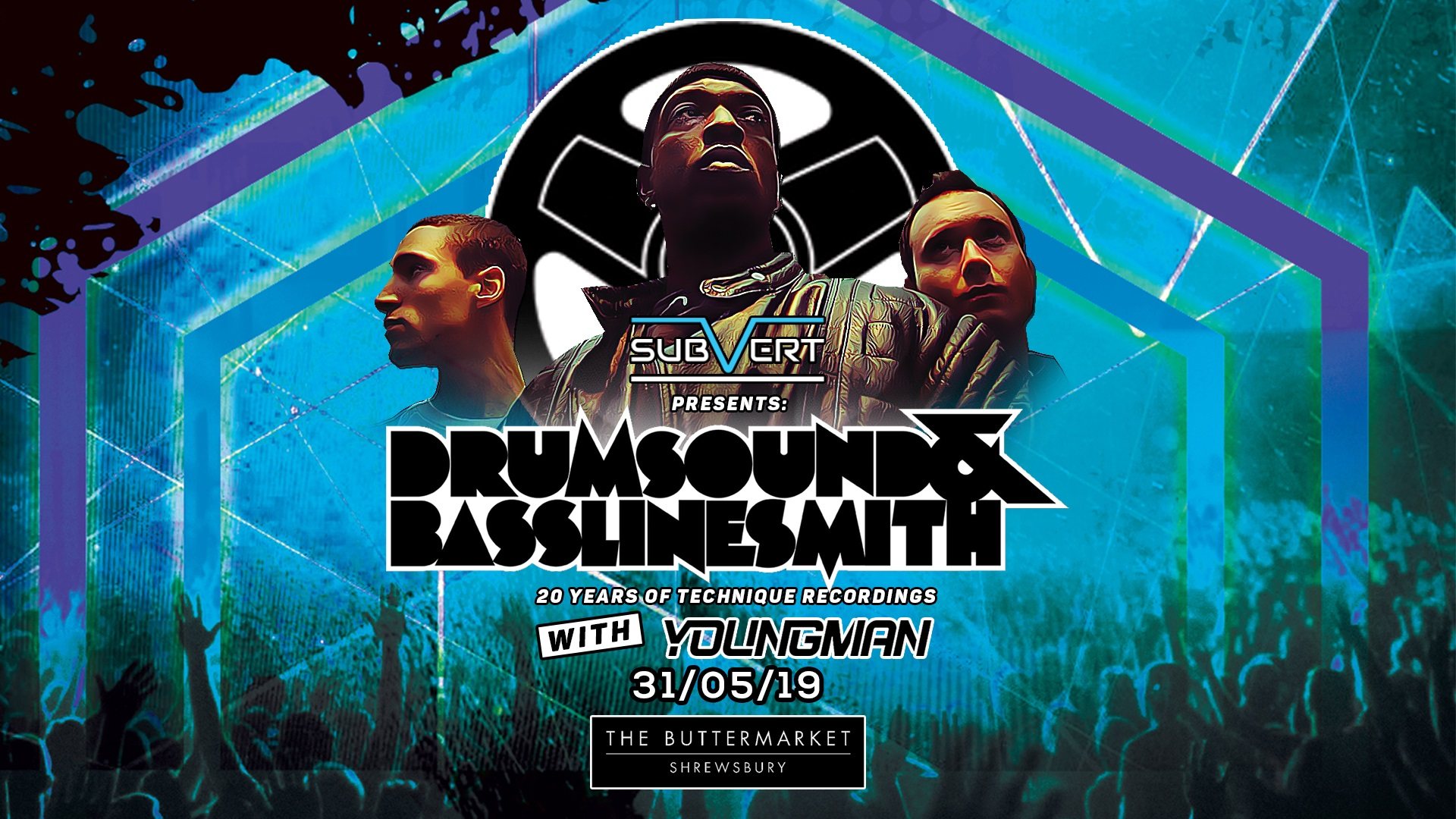 Subvert Presents Drumsound & Bassline Smith – 20 Years of Technique