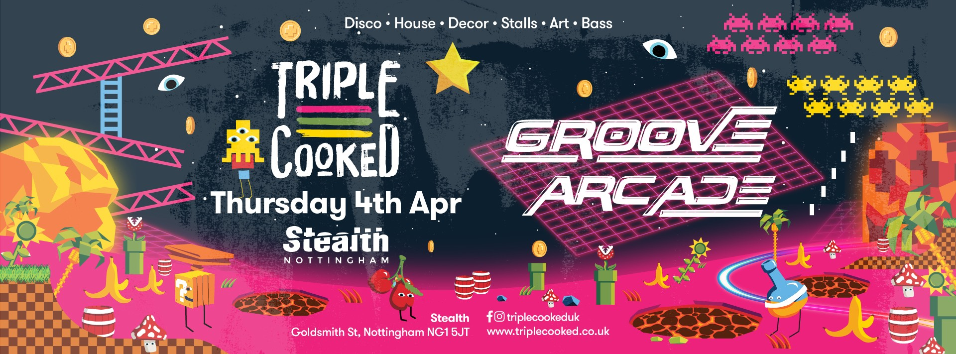 Triple Cooked: Nottingham – Groove Arcade