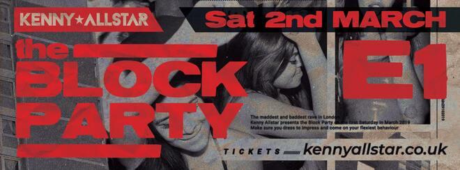 Kenny Allstar: Block Party + Special Guests (BBC1XTRA)