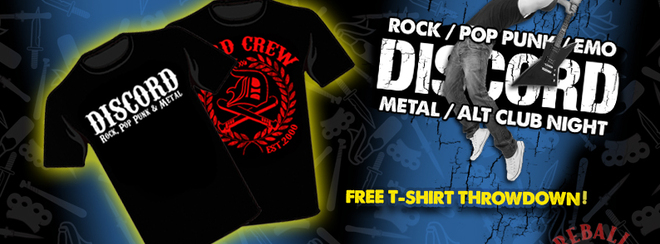 Discord – Free T-Shirt Throwdown!