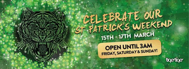 St Patrick's Weekender