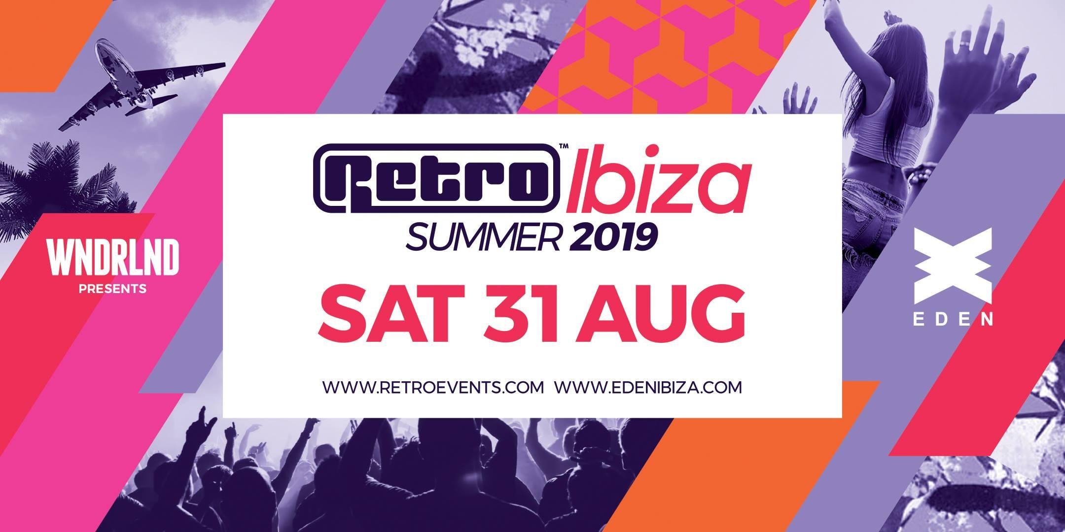 WNDRLND presents Retro at Eden, Ibiza, part 3
