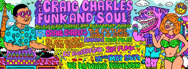 Craig Charles Beach & Terrace Party