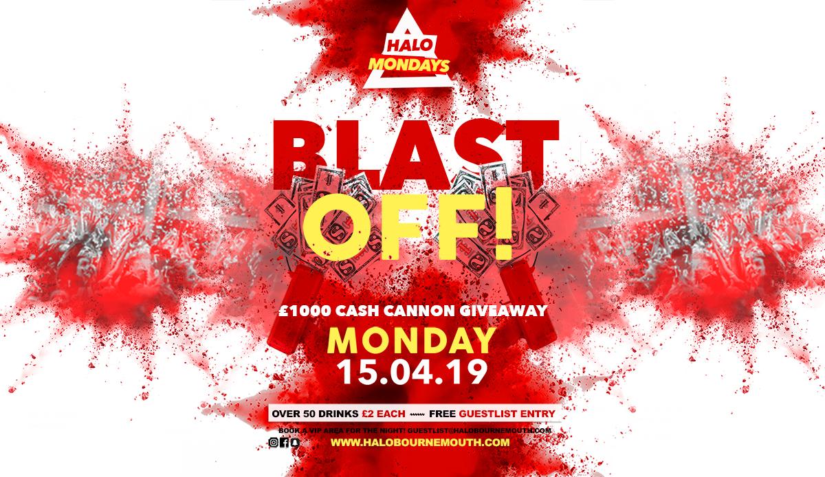 £1000 Cash Giveaway 15.04.19 Halo Mondays