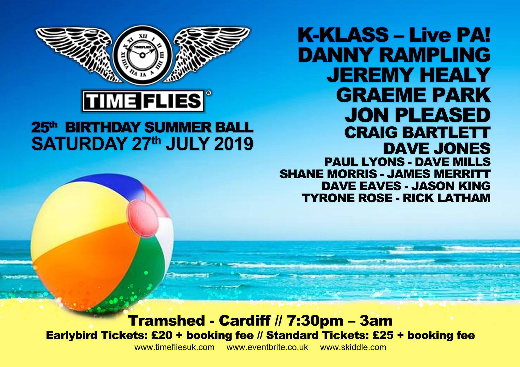 Time Flies 25th Birthday Summer Ball