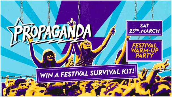 Propaganda Leeds – Festival Warm-Up Party!