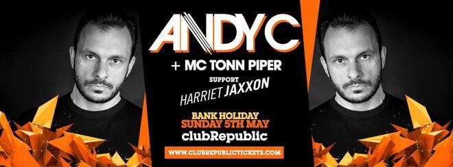 Andy C / Bank Holiday Sunday 5th May / Club Republic