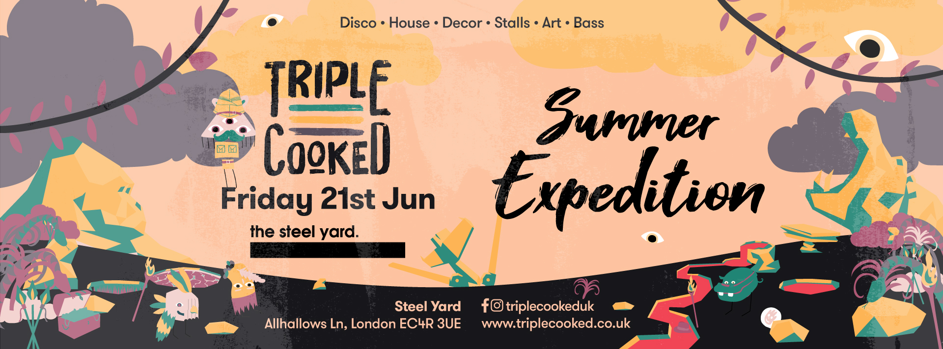 Triple Cooked : London : Summer Expedition
