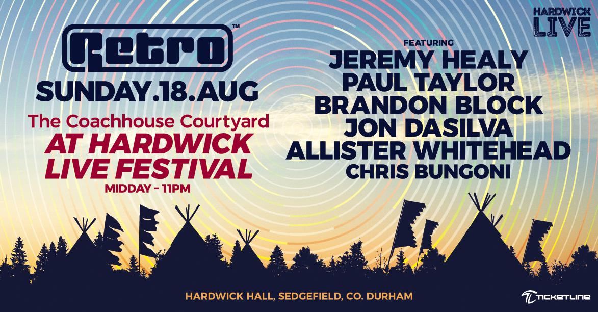 Retro at Hardwick Live