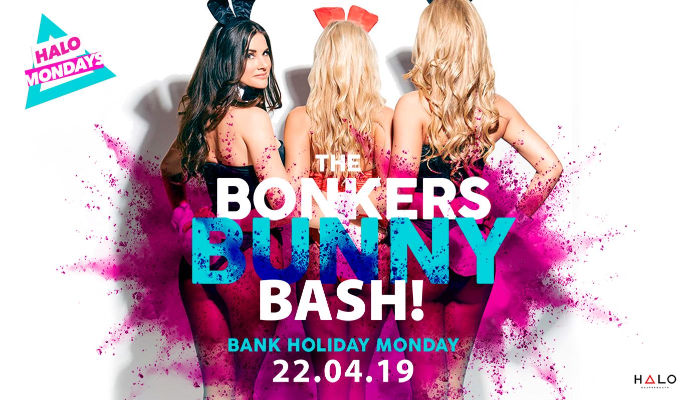The Bonkers Bunny Bash 22.04.19 Halo Mondays
