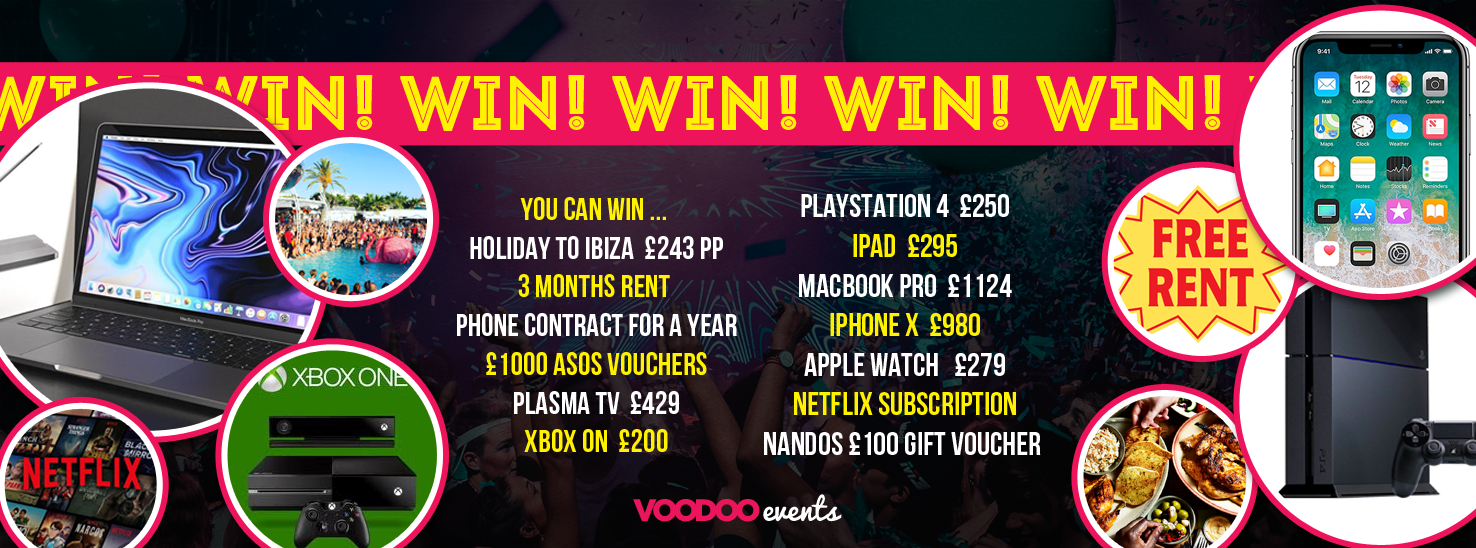 WIN!!! SHEFFIELD FRESHERS COMPETITION - FREE COMPETITION! on
