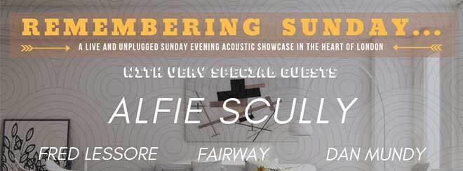 Remembering Sunday // Acoustic Showcase