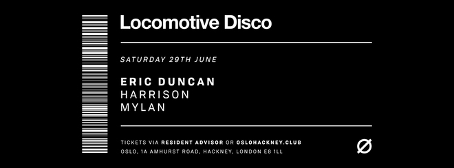 Locomotive Disco - Eric Duncan & Harrison