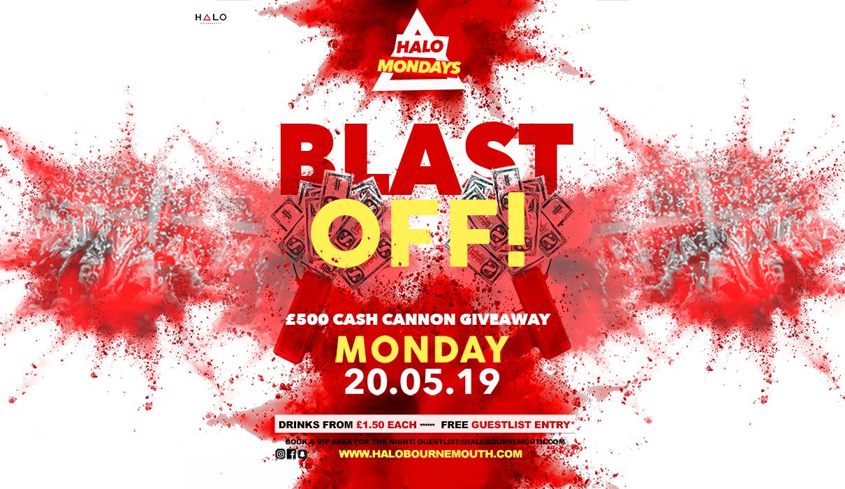 £500 Cash Giveaway 20.05.19 Halo Mondays