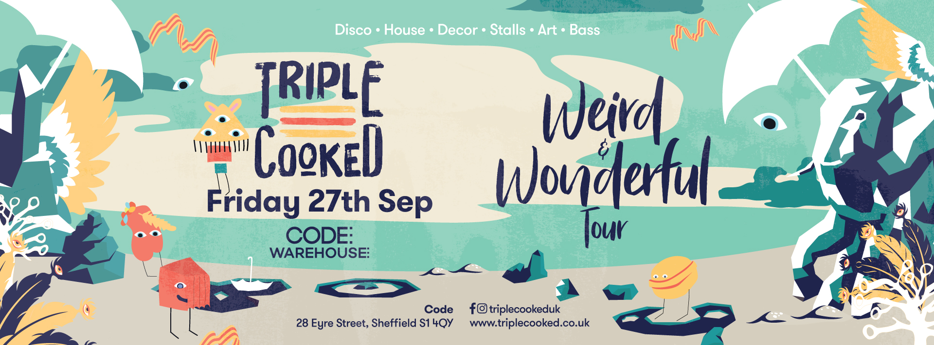 Triple Cooked: Sheffield – Weird & Wonderful