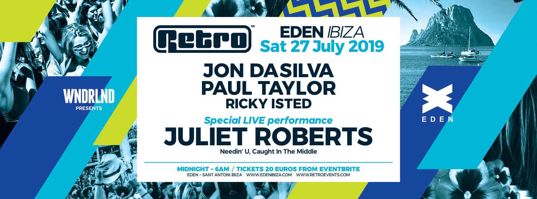 WNDRLND presents Retro at Eden, Ibiza part 2