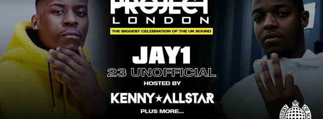 Project London ft: JAY1, 23 Unofficial, Kenny Allstar, JB Scofield & More