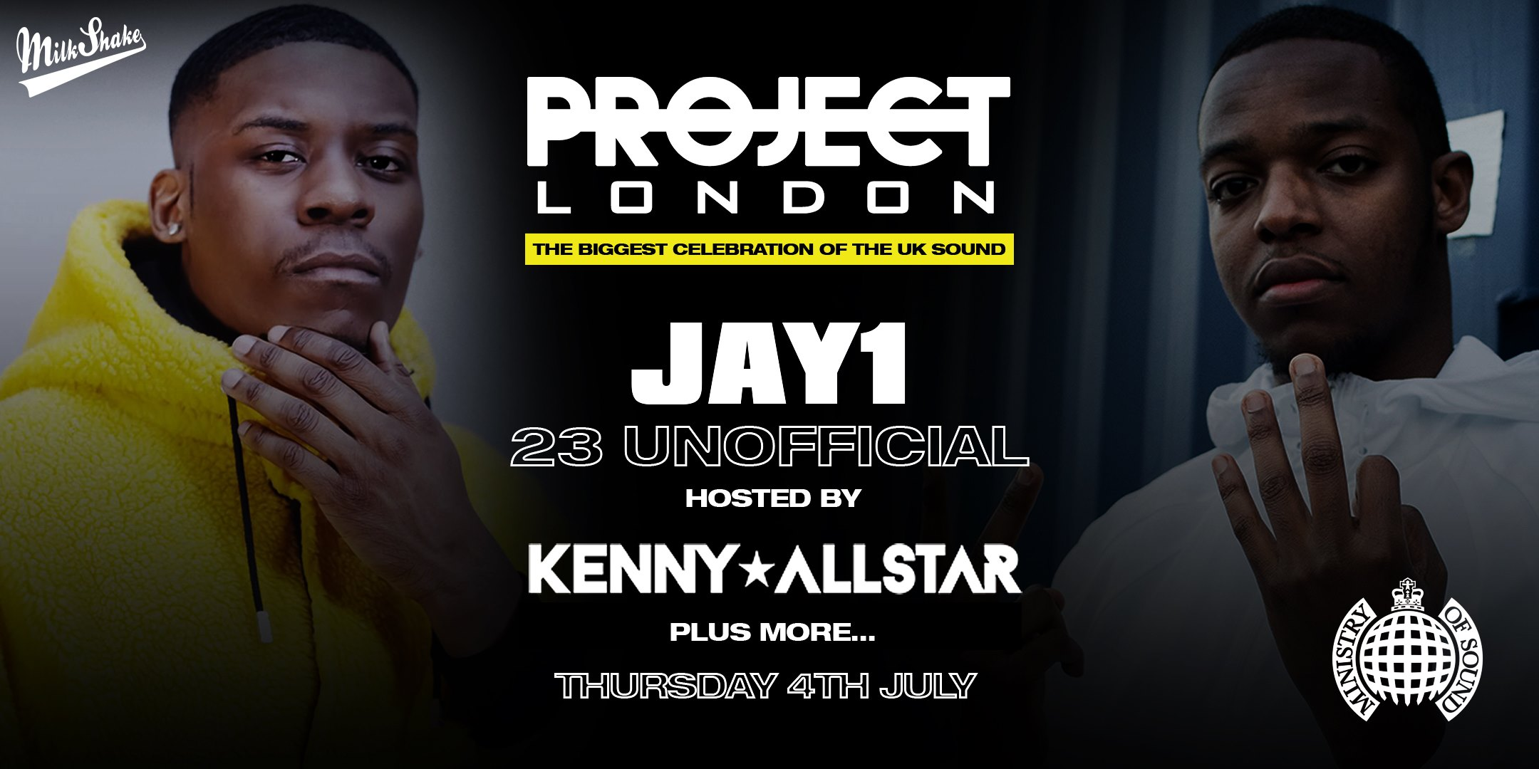 Project London  – Tonight | Ministry of Sound Doors open 10:30pm Tickets On the door