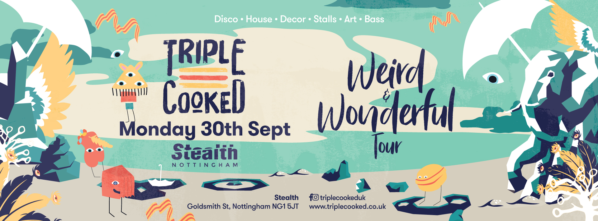 Triple Cooked: Nottingham – Weird & Wonderful