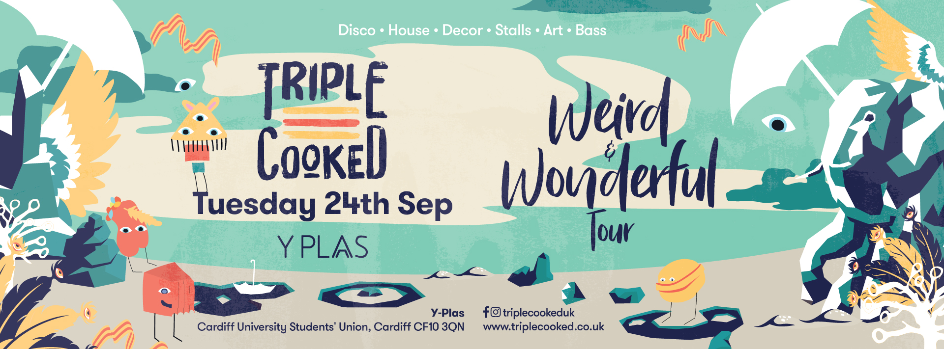 Triple Cooked: Cardiff – Weird & Wonderful
