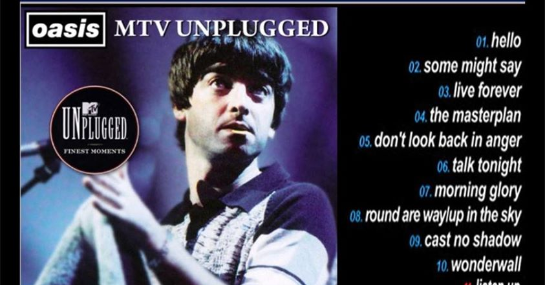 Oasis MTV Unplugged special on Thu 26th Sep 2019 at The