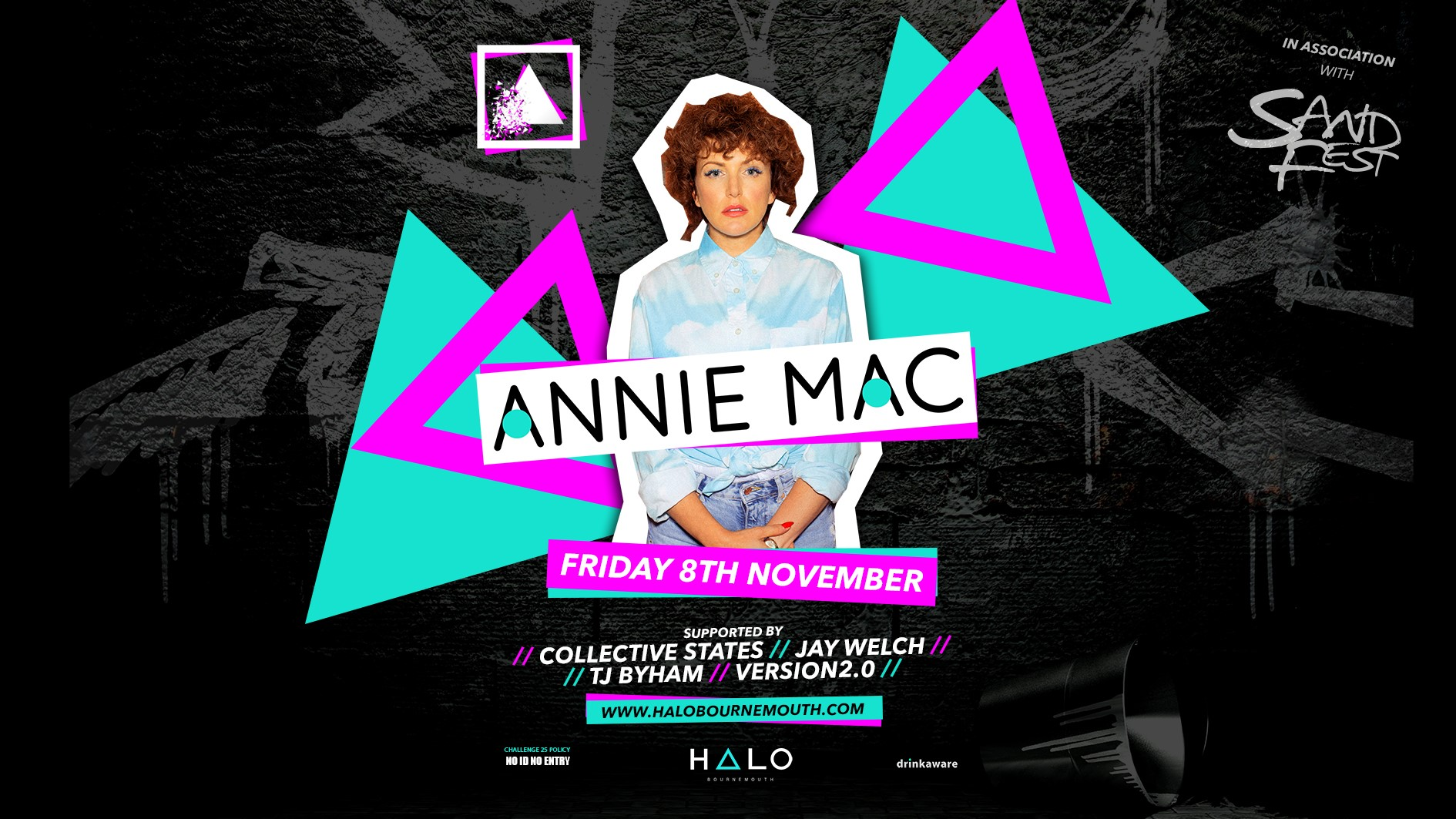 Halo sessions 19: Annie Mac (Radio 1)