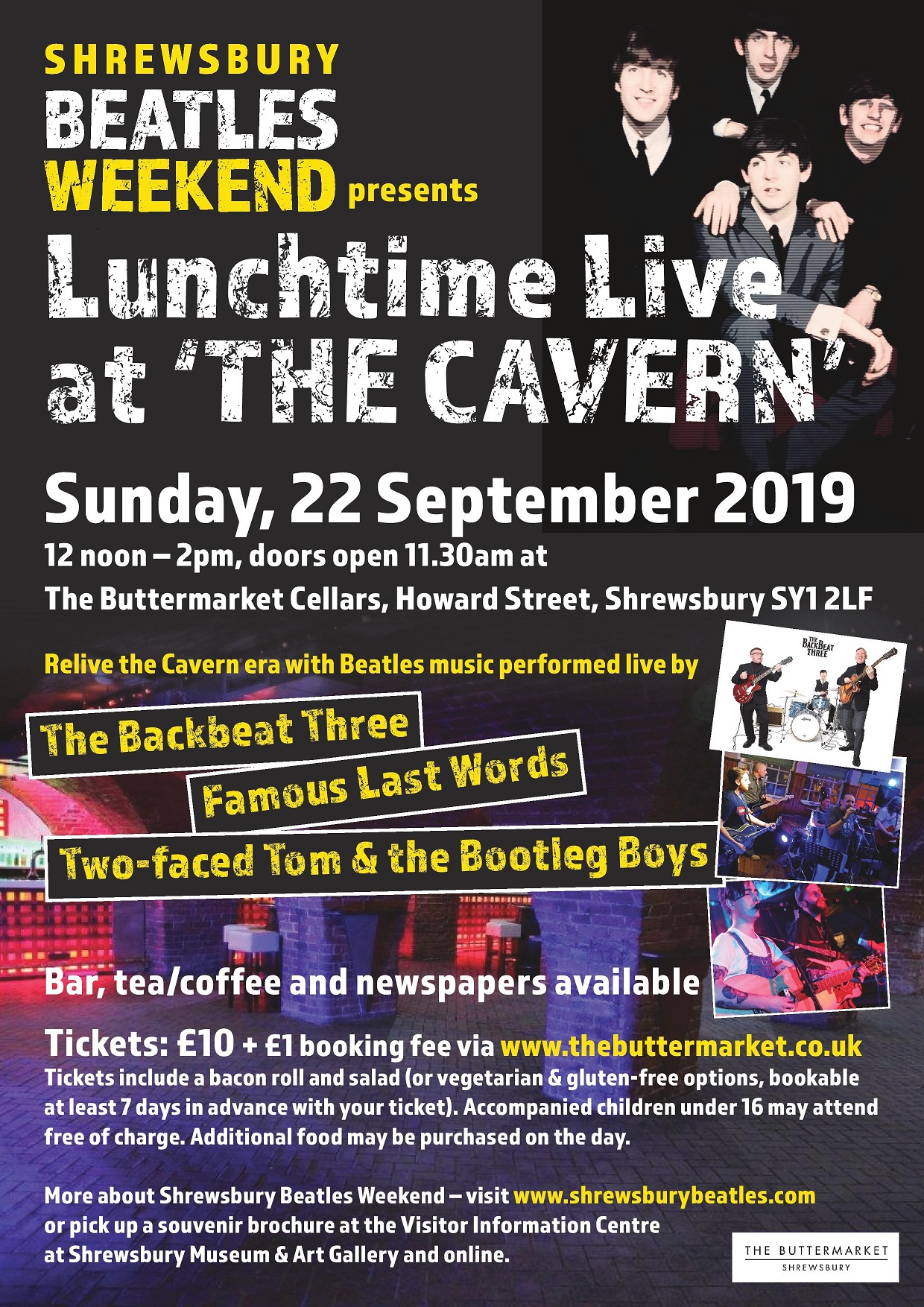 Lunchtime Live At 'The Cavern'