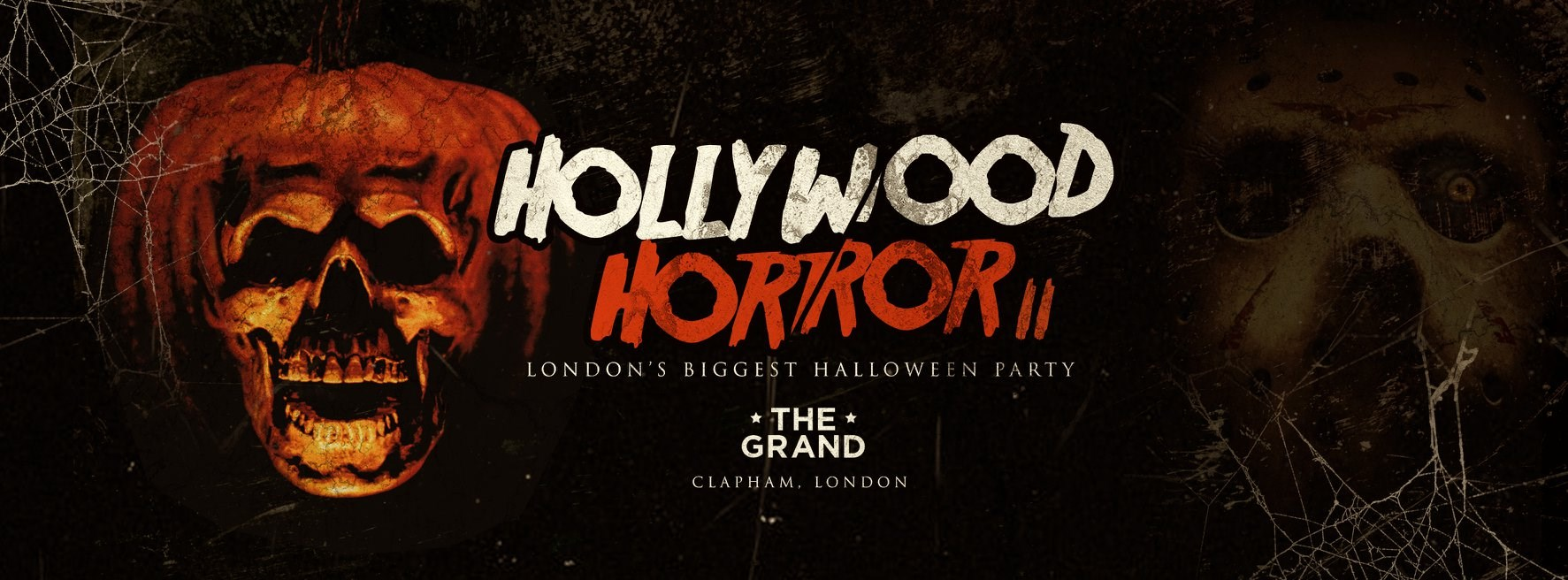 Hollywood Horror | Halloween at The Clapham Grand