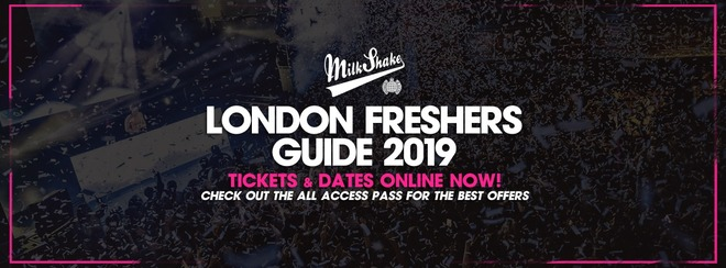 The Official Milkshake Freshers Guide 2019 - Tickets Out Now!