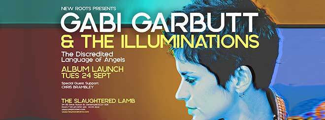 Gabi Garbutt & The Illuminations 'The Discredited Language of Angels' Album Launch